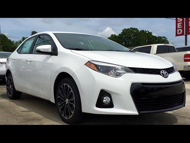 2015 Toyota Corolla S Plus Full Review, Start Up, Exhaust