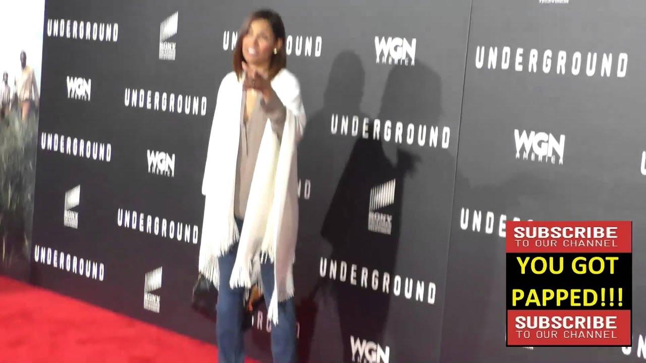 Salli Richardson Whitfield At The Wgn America S Underground World