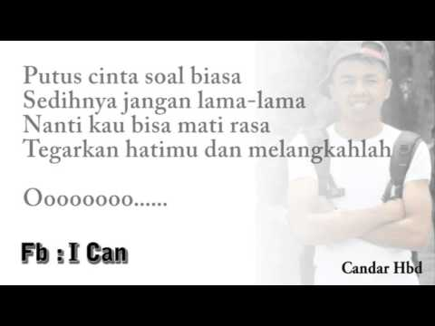 jangan bersedih   Tiffany Kenanga Lyric By Candra