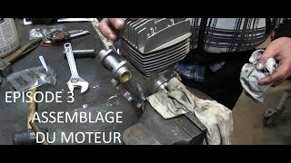 🏍 EPISODE 3 - Assemblage du moteur Malossi 50cc / Peugeot 103 MVL [FR]