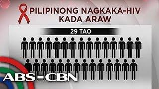 TV Patrol: Dami ng may HIV-AIDS sa kabataang Pinoy, isa na umanong krisis