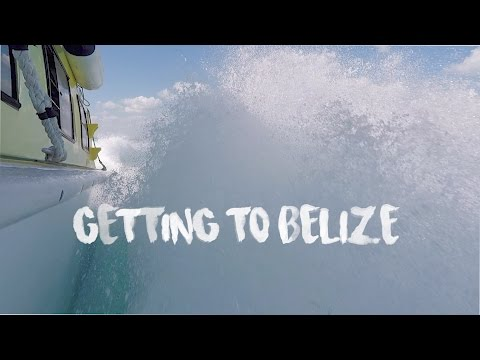 Getting to Caye Caulker, Belize from Playa del Carmen