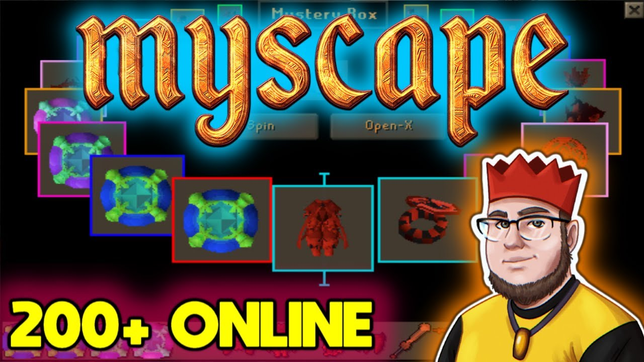 ITS BEEN FOREVER SINCE I PLAYED THIS CUSTOM RSPS!! STARTING A SERIES!? (BIG GIVEAWAY) - MyScape RSPS