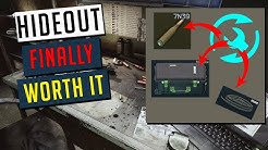 Craft IGOLNIK, HOSES, MAGBOX & MORE in the HIDEOUT - finally worth upgrading (Escape From Tarkov)