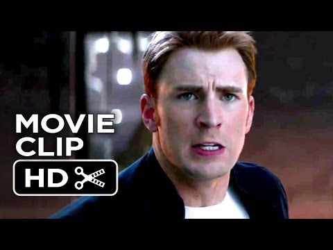 Captain America: The Winter Soldier CLIP - In Pursuit (2014) - Chris Evans Marvel Movie HD