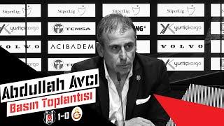 Galatasaray Galibiyeti Sonrası Teknik Direktörümüz Abdullah Avcı'nın Basın Toplantısı - Beşiktaş JK