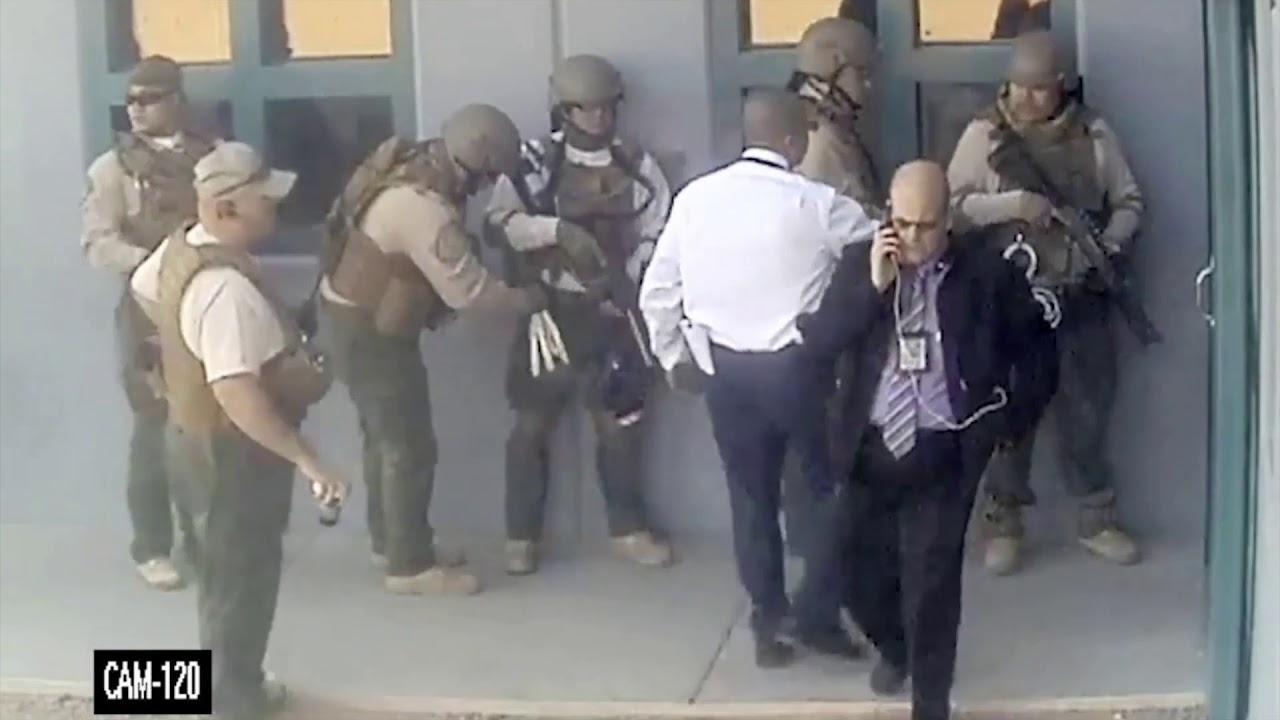 Arizona Department of Corrections releases footage of inmate holding  library employee hostage
