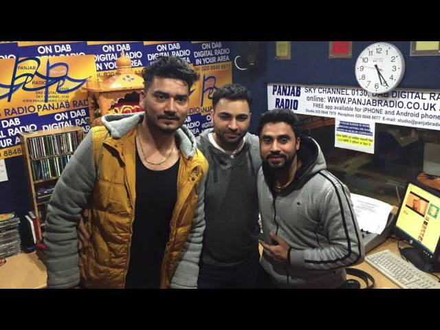 DILPREET DHILLON & DESI CREW Live Interview at Panjab Radio with Vishal Johal 2016