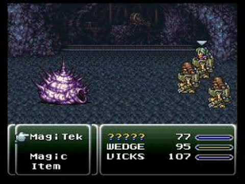 Final Fantasy VI - Whelk Boss 1