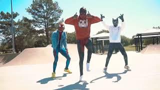 """""""Ghetto Avengers"""" Drake - Toosie Slide (Official Dance Video)"""