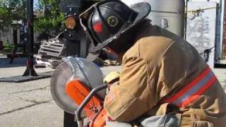 Forcible Entry Training with the Fire Rescue Safety Blade at Brotherhood Instructors, LLC