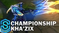 Championship Kha'Zix Skin Spotlight - League of Legends