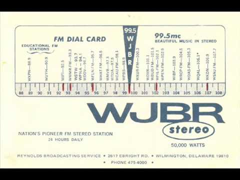WJBR 99.5 FM Wilmington, Delaware - Early 1970s