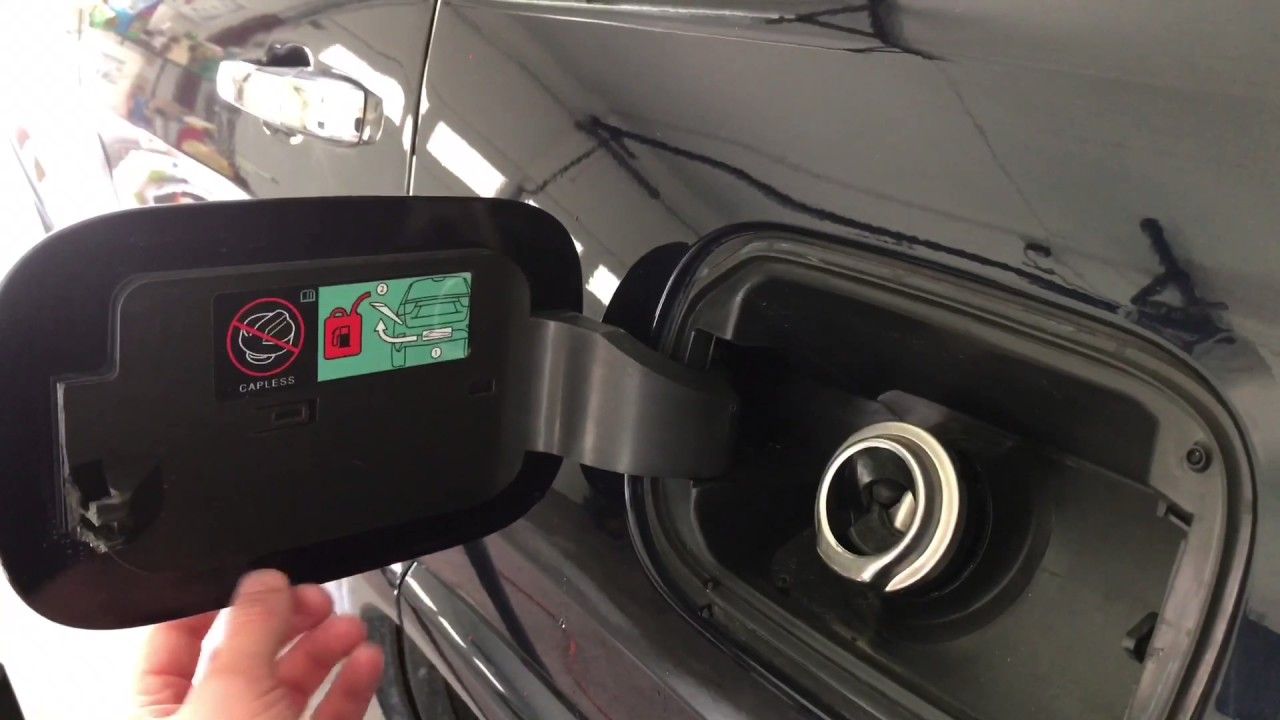 Toyota Tundra Diesel 2016 >> 2014 Jeep Grand Cherokee fuel door fix - YouTube