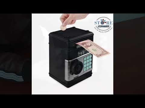 Bank ATM Password Cash Coins Money Box