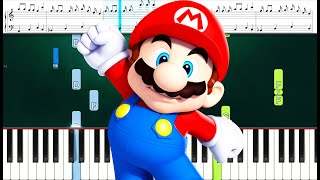 SUPER NINTENDO WORLD Galantis ft. Charli XCX - WE ARE BORN TO PLAY (Piano Sheets)