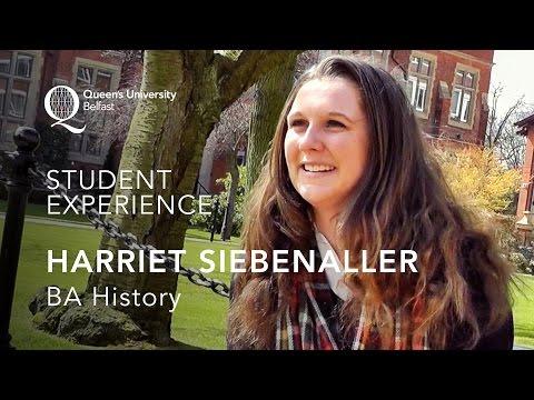Undergraduate student profile - Harriet Siebenaller (BA) History - Queen's University Belfast