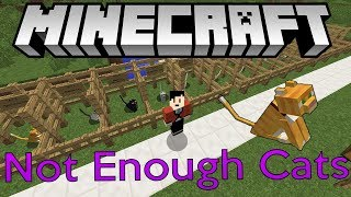 Not Enough Cats Mini Mod Preview | Minecraft Forge Version 1.12.2