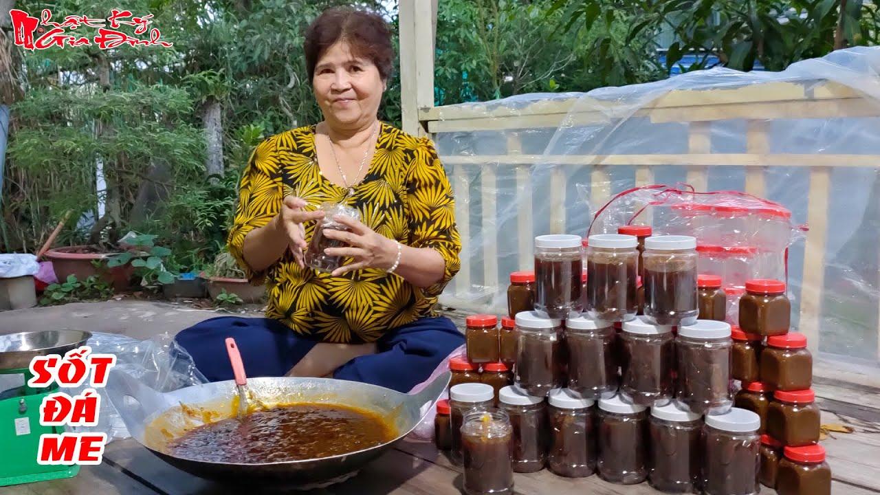Bà 5 Châu Đốc Chỉ Làm Sốt Đá Me Làm Nước Uống Thơm Ngon Kiểu Truyền Thống Của Miền Tây | NKGĐ