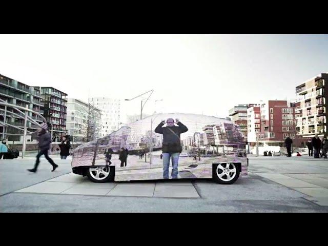 Mercedes-Benz kampanja sa nevidljivim autom