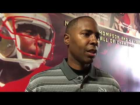 Charlie Ward at All Pro Dads event