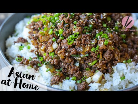 Ground Beef Bulgogi Easy & Fun!