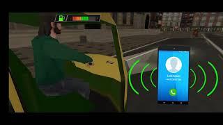 modern Tuk Tuk Rickshaw Driving- City mountain Auto Driver Android Game play #2 screenshot 2