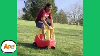 You KNOW This Ends POORLY, Right?! 😂 | Funny Fails | AFV 2021