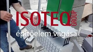 IsoteQ építőelem vágása