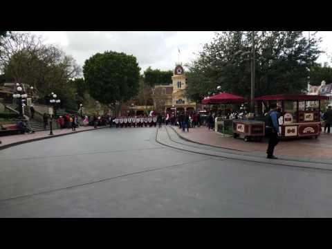 Bellflower HS Marching Band Performing @ Disneyland