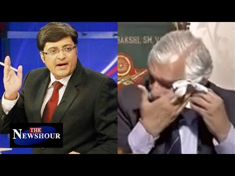 General G D Bakshi Gets Emotional Over Tricolor Issue On The Newshour Debate (18th Feb 2016)
