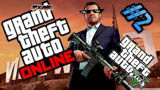 Jugando Gta 5 online / Gta Online #2