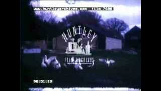 Amateur Home Movie With Rolls Royce, 1949 Film 7688
