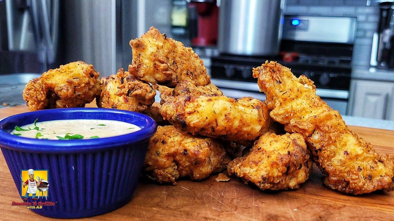 Crispy Chicken Tenders with Garlic Chili Sauce Recipe