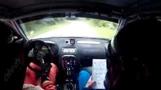 Mrak/Kuštrin - Rally Nova Gorica 2015 - Onboard Crash