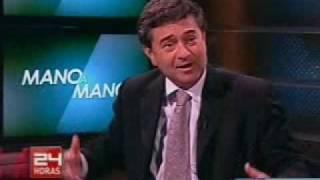Mano a Mano Senador Juan Antonio Coloma