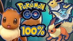 100% IV Evoli zu Blitza, Aquana oder Flamara?! | Pokémon GO Deutsch #235