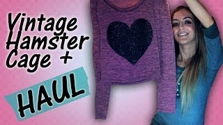 Vintage Hamster Cage + HAUL! Thumbnail