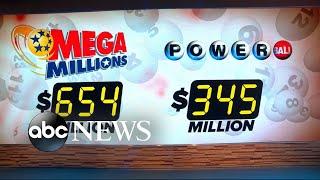 Mega Millions jackpot rises to $654M