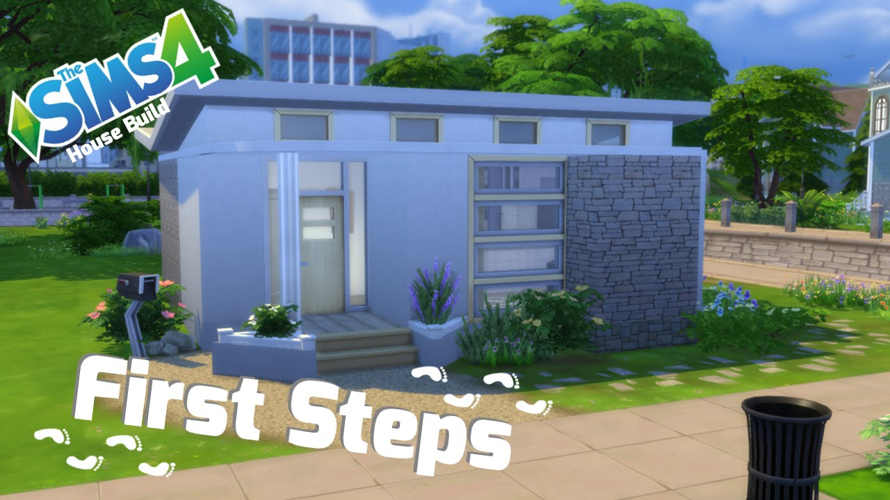 The Sims 4 - Starter House - First Steps - YouTube