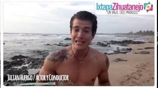 Julian Huergo disfruta de Ixtapa Zihuatanejo