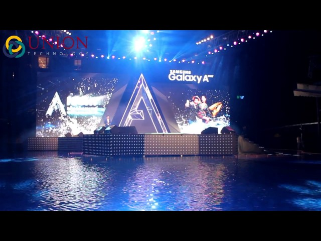 Ra mắt sự kiện Samsung Galaxy A 2017   Chính thức   Nhạc nước Union Technology