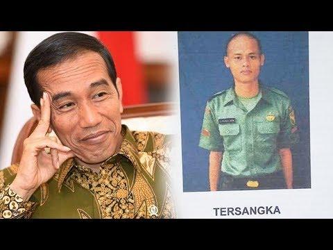 Seorang Prajurit TNI yang menghina Jokowi berakhir pemecatan