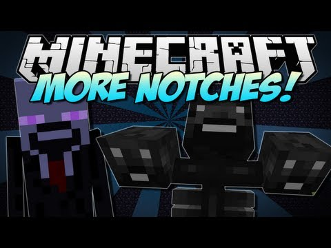 Minecraft | MORE NOTCHES! (Discover the Wither Notch!) | Mod Showcase [1.5.1]