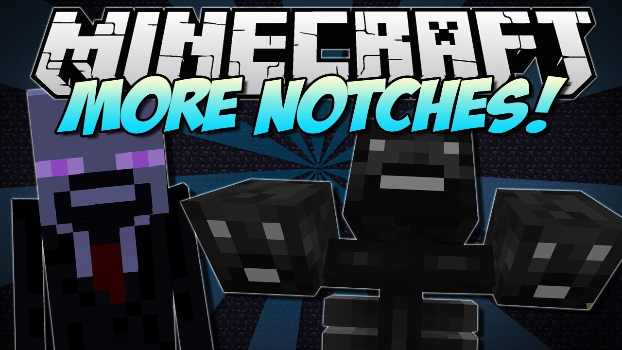 Minecraft More Notches Discover The Wither Notch