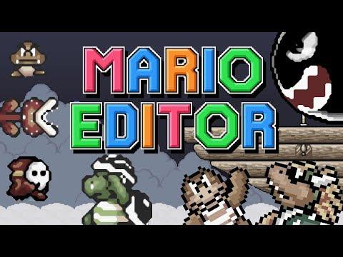 Mario Editor - ALL ENEMY SHOWCASE