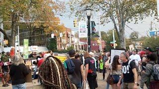 Atlanta Antifa Protest Nov 4th