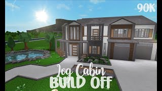 ROBLOX | Bloxburg: Cabin Build Off | Cylito + Sydney XO