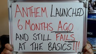 Anthem Launched Itand39s Cataclysm Content And No One Even Knew