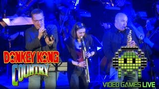 Video Games Live performing Donkey Kong Country at London Troxy 20th March 2016